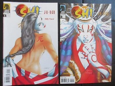 Dark Horse Comics SHI : JU-NEN 1 2 3 4 (2004) BILLY TUCCI! Books VF+ to VF+/NM-