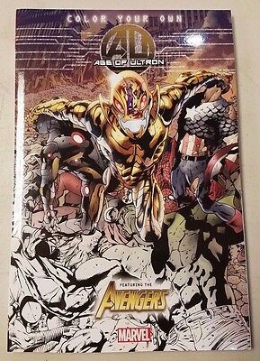 Age of Ultron Color Your Own Coloring Book (Unused) VF-NM