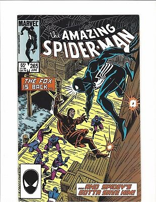 Amazing Spider-Man #265 - 1st Appearance Silver Sable! - VF (June 1985 )