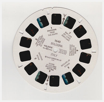 View Master   Bologna   Italy  1640      In  Inglese