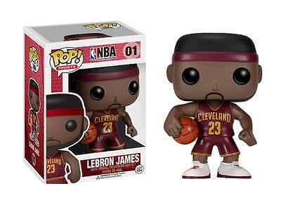Funko Pop NBA Lebron James Red Away Jersey USA Seller 100% Authentic