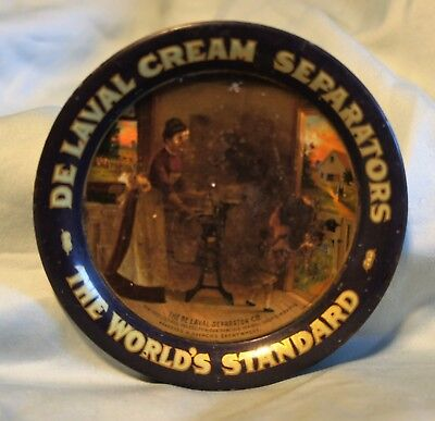 Vintage De Laval Cream Separators Agriculture Advertising Tip Tray