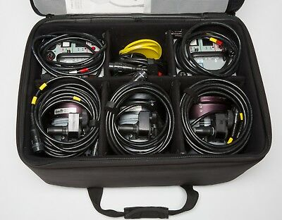 Dyna-Lite lighting kit - 2 M1000XR powerpacks & 3 2040 heads, accessories & case