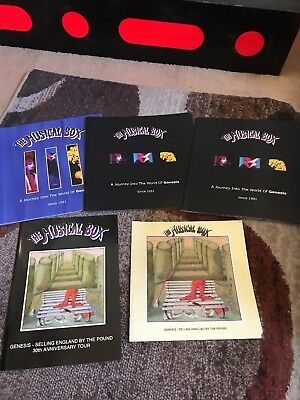 The Musical Box Genesis Tribute Band Concert Programs