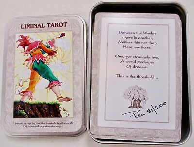 Liminal Tarot Deck (SIGNED & NUMBERED) in Original Tin - NEW OOP