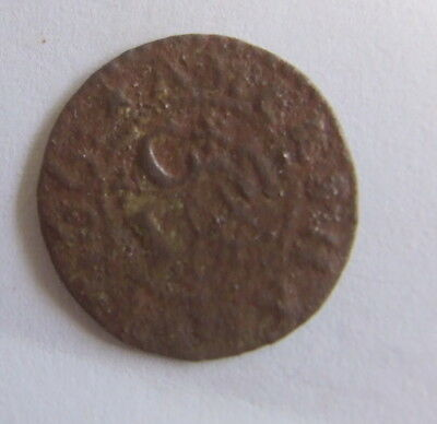 Extremely Rare 17th Century Traders Token (Low Grade Detector Find)