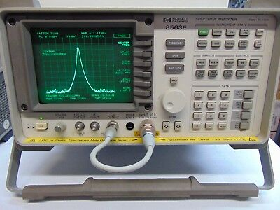 HP Agilent 8563E Spectrum Analyzer 9KHz to 26.5GHz opt 008 with 85620A memory
