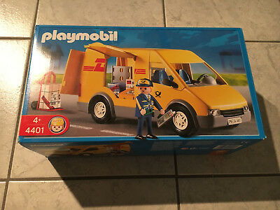 playmobil post 4400 und dhl postauto picclick de. Black Bedroom Furniture Sets. Home Design Ideas