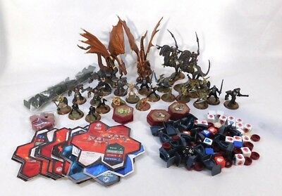Heroscape Huge Lot Heroes and Troops Figures with Cards Dragons Robots