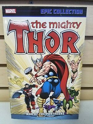 The Mighty Thor Epic Collection War Of The Pantheons Trade Paperback TP TPB New