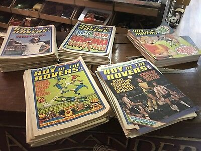 """Large Collection Of Early """"Roy Of The Rovers"""" Comics. Open To Offers."""