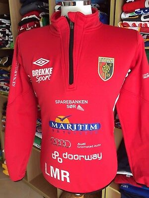 Top Shirt OIF Arendal (S) Issue Oyestad Umbro Norwegen Norway Sweater Trikot