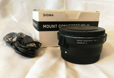 Sigma MC-11 Mount Adapter Converter (Canon EF Lens to Sony E Mount)