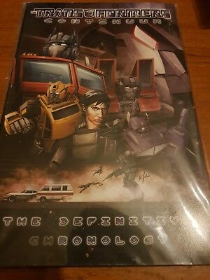 Transformers continuum The Definitive Chronology comic