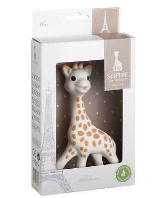 Sophie the Giraffe French baby Teether by Vulli New (sophie authenfication code)