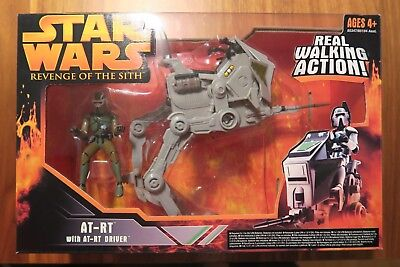 Star Wars AT-RT Revenge of the sith with driver