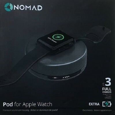 Nomad Pod for Apple Watch Power Pack Space Gray (pod-apple-sg-001)