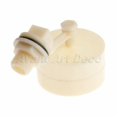 "Plastic Automatic Float Valve 1/2"" Automatic Fill Tank Feed Water Level Control"