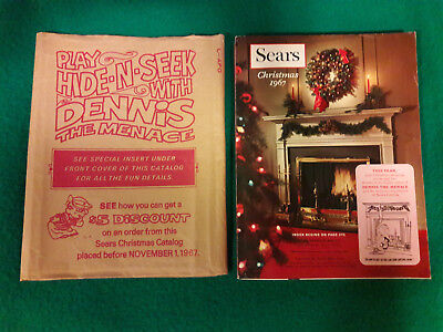 SEARS CHRISTMAS WISHBOOK 1967 in Original Cover * Fantastic Vintage Condition