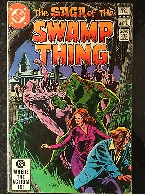 The Saga Of Swamp Thing #5 1982 - 2nd Series