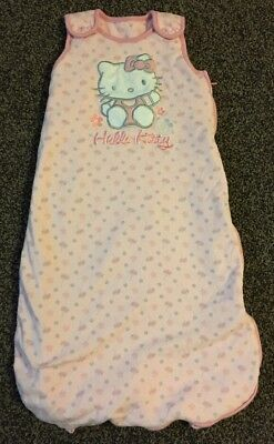 Baby Girl 2.5 Tog Sleeping Bag, Hello Kitty, Age 12-18 Month, GEORGE