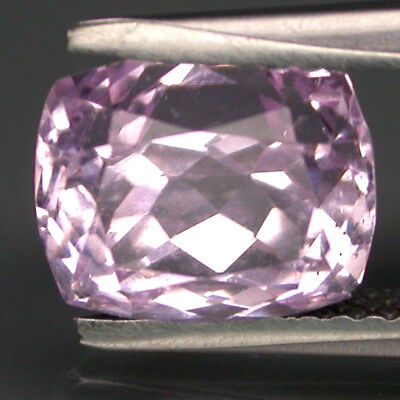 Wonderful 4.20Ct 9x8Mm Antique Cut 100% Natural Top Purplish Pink Kunzite Brazil