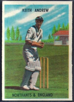 A&bc-Cricket Ers 1959-#25- Northamptonshire - Keith Vincent Andrew