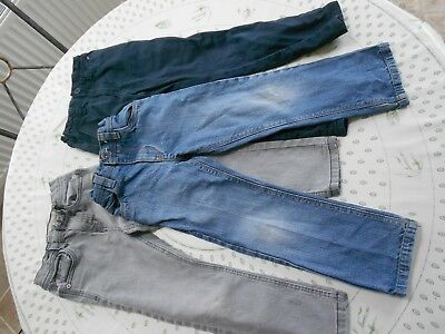 Three pairs of boys trousers / jeans 5 - 6 years including NEXT brand