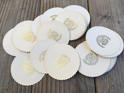 Cadillac Coasters 1970's 58 disposable paper coasters