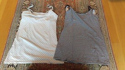 H&M Mama Nursing Tops Set of Dotted and Striped EUR S