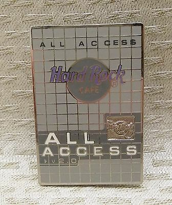 Hard Rock Cafe All Access Lapel Pin
