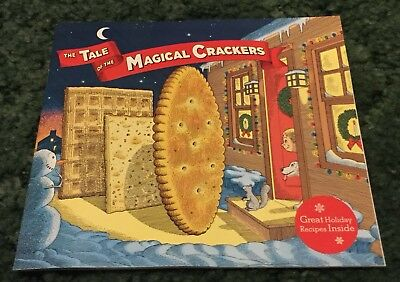 The Tale Of The Magical Crackers Book Christmas Recipes Nabisco Kraft Promo Item