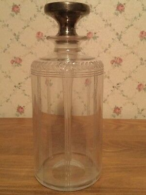 Antique Tiffany & Co Perfume Bottle with Sterling Silver Stopper