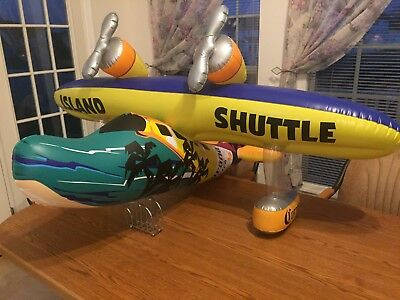 "Corona Extra Beer Inflatable Sea Plane ""Island Shuttle"" 68"" Wing Span VHTF RARE"