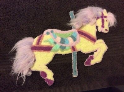 Stitched Carousel Horse --FREE SHIPPING