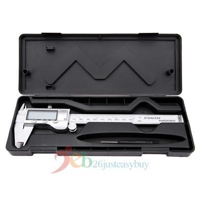 "6""/150mm Stainless Steel Electronic Digital LCD Vernier Caliper Micrometer Gauge"