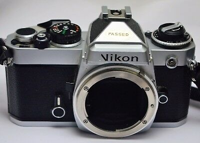 Nikon FE SLR Camera, for parts or repair.