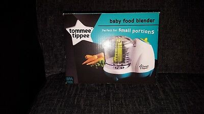 **New** Tommee Tippee Baby Food Blender Worry Free Weaning 4m+ **Wow**