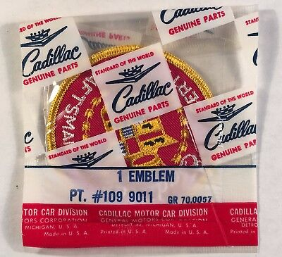 Cadillac Certified Craftsman Embroidered Patch