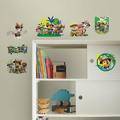 RoomMates Jungle Paw Patrol Peel and Stick Wall Decals
