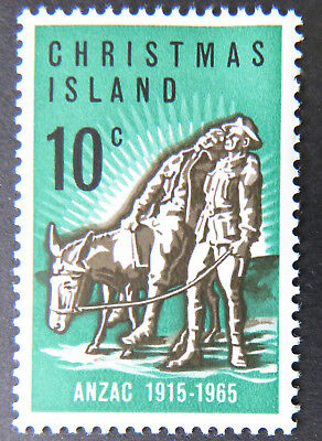 1965 Christmas Island Stamps - 50th Ann Anzac Landing Gallipoli - Single MNH
