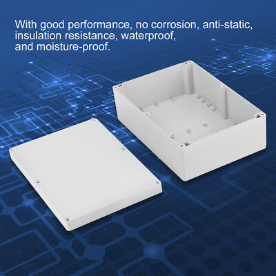 Waterproof Clear Electronic Project Box Enclosure Plastic Case DIY Junction Box