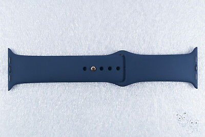 Genuine Apple 42MM Sport Band For Apple Watch w/Stainless Steel Pin, Blue Cobalt