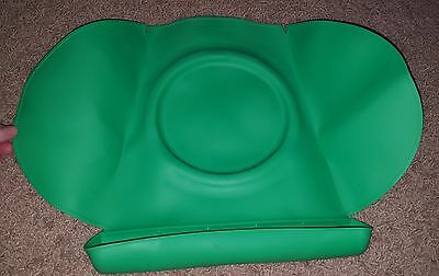 Summer Infant Tiny Diner 2 Green Suction Baby Toddler Placemat Feeding Food Mat