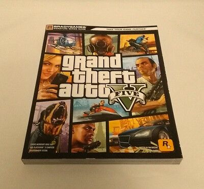 Grand Theft Auto V 5 Signature Series Guide BradyGames - Strategy Brady PS3 360