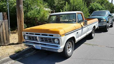 1976 Ford F-250 ranger 1976 ford f250 2wd