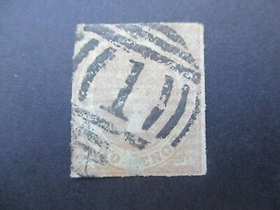 Victoria Stamps: 1d Red Imperf Used  (g138)