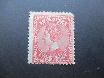 Victoria Stamps: 9d  red mint  (i8)