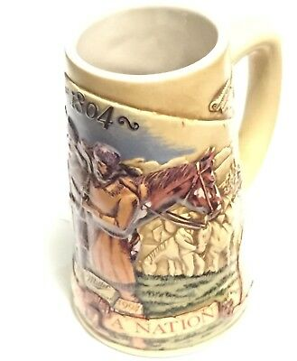 Miller Birth Of A Nation - Fourth In The Series Beer Stein, 1804 Lewis & Clark
