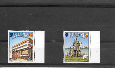 ISLE of MAN 1983 Post Office Anniversary set u/m